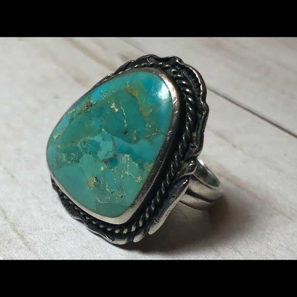 Sterling silver ring size 6.5/7